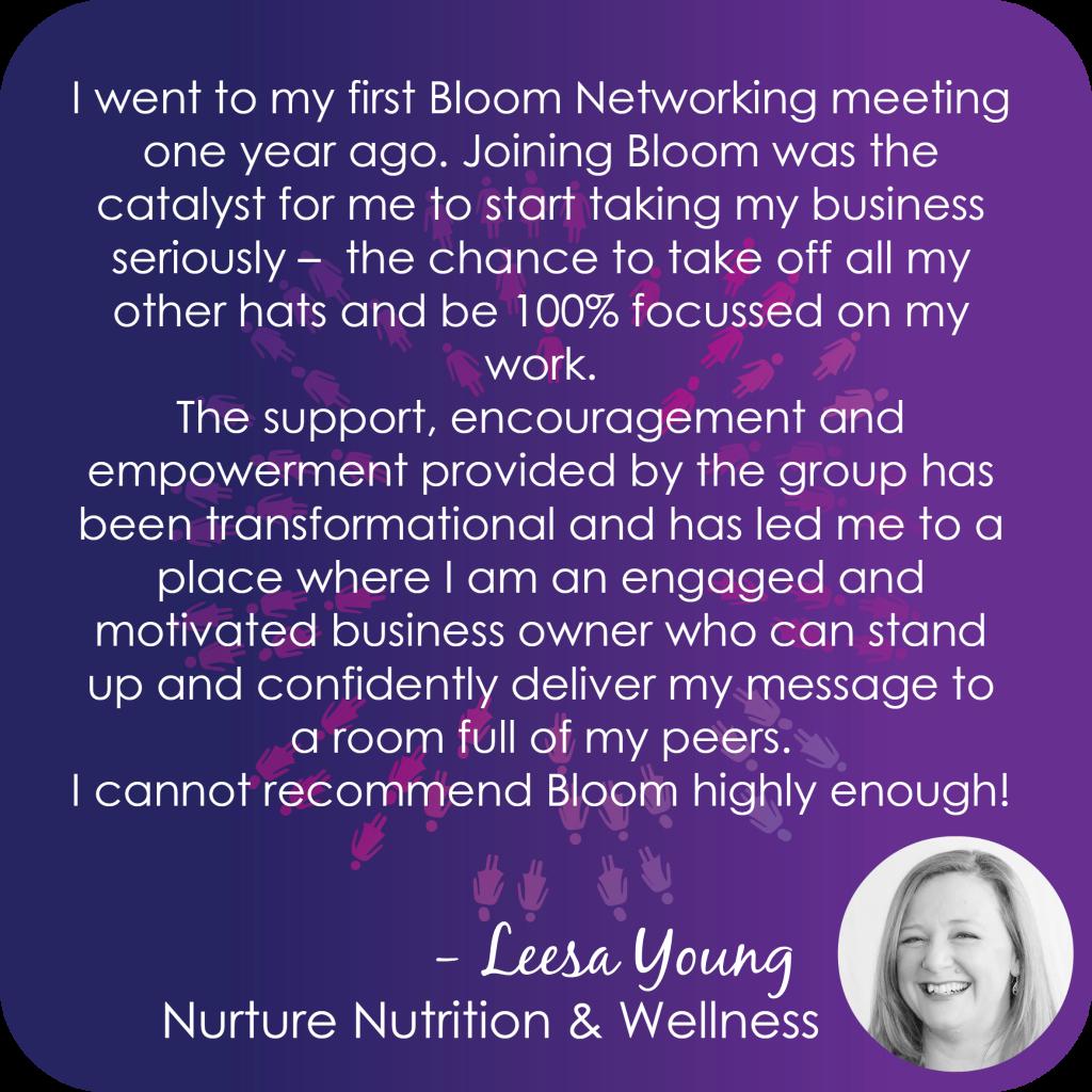 Nurture Nutrition testimonial